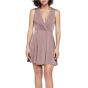 NWT BCBG blush mini dress size small